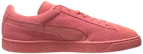 PUMA Men's Suede Classic Mono Reptile Fashion Sneaker Porcelain Rose-puma Silver cheap from china yZBUuWvez
