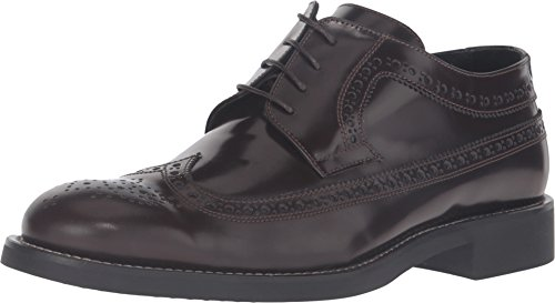 Bugatchi Mens Lombardy Accent Oxford Marrone