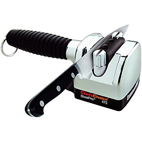 Chef S Choice M475 Commercial SteelPro Heavy Cast Metal Knife Sharpener