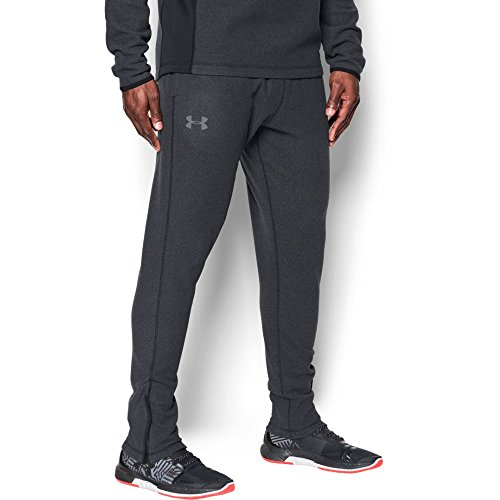 Under Armour Men's ColdGear Infrared Fleece Tapered Pants,Black (001)/Graphite, X-Large