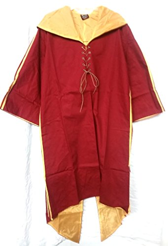 Harry Potter Quidditch Gryffindor Robe Habber & Dasher Discontinued SIZE - ADULT EXTRA LARGE -