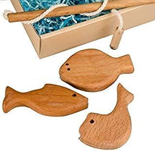 Mini set1,Developing Toy'Fishing', Wooden game set, Toy For Babies