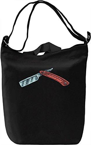 Blade Borsa Giornaliera Canvas Canvas Day Bag| 100% Premium Cotton Canvas| DTG Printing|