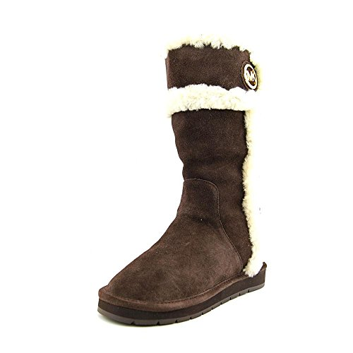 MICHAEL Michael Kors Women's Winter Ankle Boot (Coffee, 10)