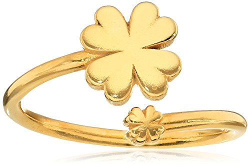 Alex and Ani Ring Wrap, Four Leaf ()