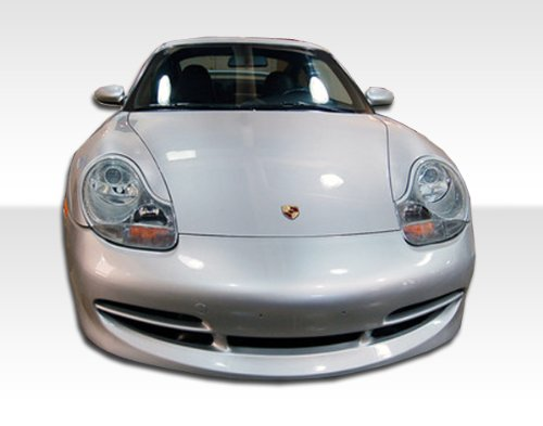 Duraflex 103748 1999-2001 Porsche 911 996 1997-2004 Boxster 986 Gt-3 Look Front Bumper Cover With Lip Porsche 911 Fiberglass