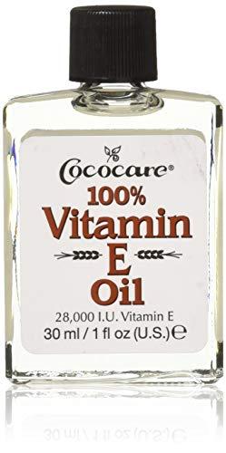 Liquid Oxygen Hand Repair Cream - Cococare 100% Vitamin E Oil, 1 Ounce