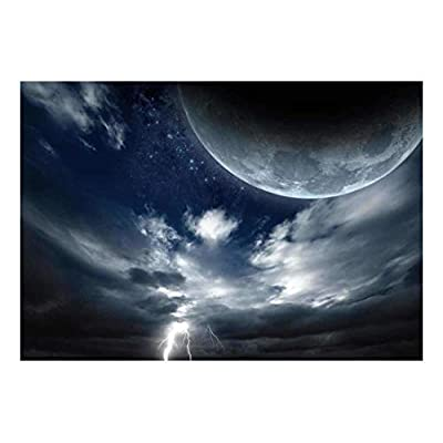 Vision of The Moon with a Sea of...