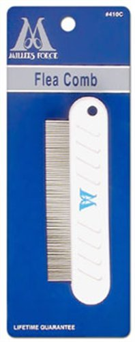 Millers Forge Flea Comb, 4-1/2-Inch - Miller Forge Comb