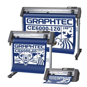 GRAPHTEC CE6000-120 Vinyl Cutter by Graphtec