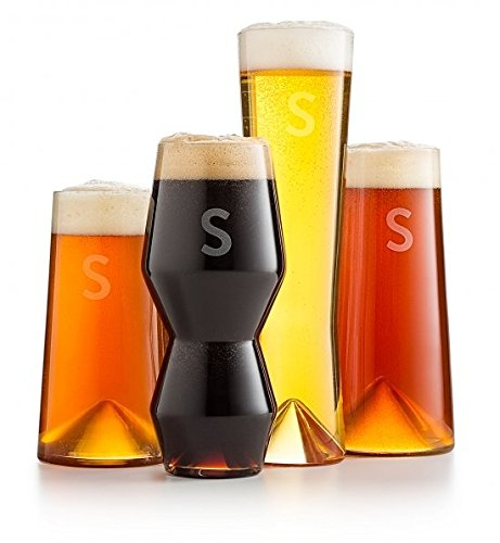Personalized Beer Glass Set by GiftTree