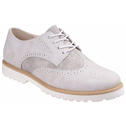 Femme Chaussures Gris lacets Divaz à Carey 5IqwUUFv