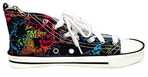 Inkology Sneaker Pencil Pouch - Multicolored