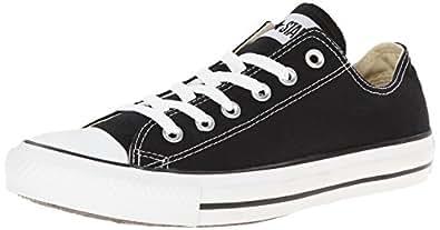 Converse The Chuck Taylor All Star Lo Sneaker (4 D(M), Black)