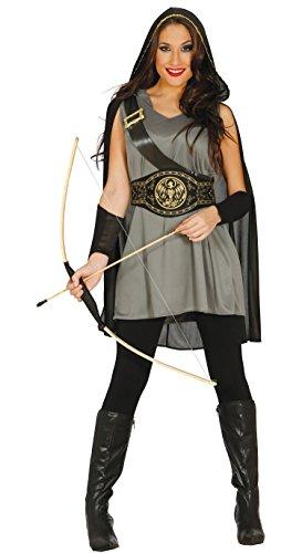Guirca- Disfraz adulta arquera, Talla 38-40 (84572.0): Amazon.es ...