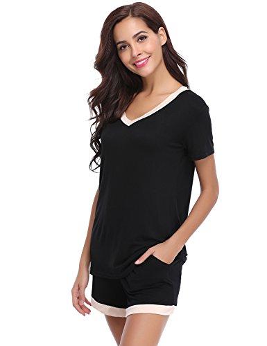 de de pijama de dormir de Conjuntos ropa Aibrou mujer algod para Conjunto w4TOxTn