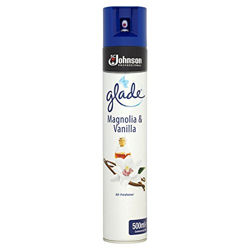 ( 500ml Pack ) Glade Magnolia & Vanilla Air Freshener 500ml
