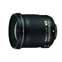 NIKON 24mm f/1.8G ED AF-S NIKKOR Wide Angle Lens for Nikon Digital SLR Cameras, Black