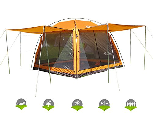 Hasika-All-Weather-Diversified-8-x-8-Instant-  sc 1 st  C&ingTentsNova & Hasika All-Weather Diversified 8 x 8 Instant Screened Canopy(not ...