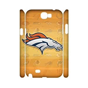 JCCFAN Denver Broncos Phone 3D Case For Samsung Galaxy Note 2 N7100 [Pattern-1]