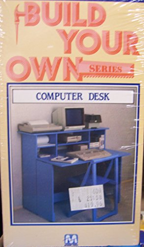 Price comparison product image Build Your Owner: Computer Desk [VHS]
