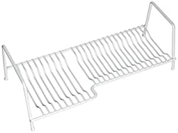 Panacea Products (40214) White Plate Storage Rack