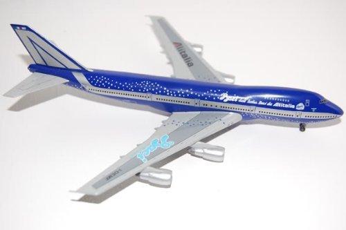 Italia Wings (Dragon Wings B747-243B Alitalia Baci dall'Italia.Baci da)