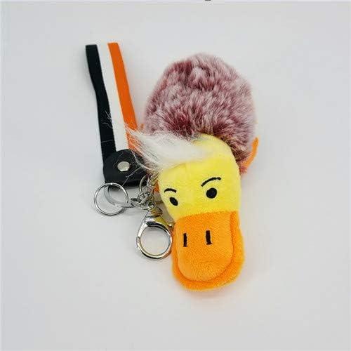 大きな口アヒルポケモンボールキーホルダーバッグペンダント装飾キーリング女性赤ちゃんのおもちゃ車キーオーナメントチャーミングキッズギフトキーホルダー