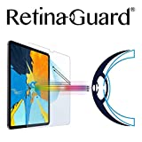 RetinaGuard Anti UV, Anti Blue Light Tempered Glass Screen Protector for 2018 iPad Pro 11 Inch, SGS and Intertek Tested  Blocks Excessive Harmful Blue Light, Reduce Eye Fatigue and Eye Strain