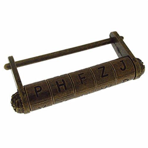 pxyelec Englische W/örter Passwort Kombination Vorh/ängeschloss Schl/össer Vintage T/ür Cabinet Koffer Metall