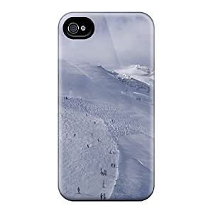 High-quality Durable Protection Case For Iphone 4/4s(winter Ski Resort)