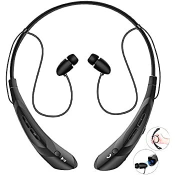 Amazon.com: Bluetooth Neckband Headphones with Magnetic