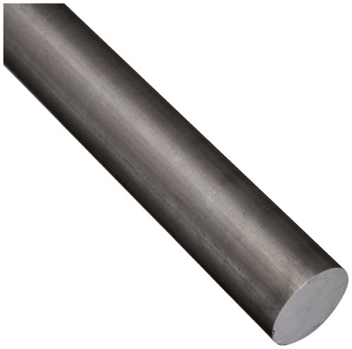 E52100 Alloy Steel Round Rod, Unpolished (Mill) Finish, Annealed, AMS S-7420, 1/2″ Diameter, 72″ Length