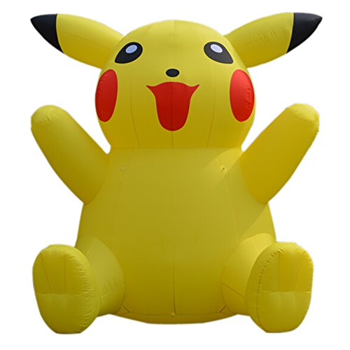 Sayok 13.12ft Giant Inflatable Cartoon Characters Inflatable Pikachu with Air Blower