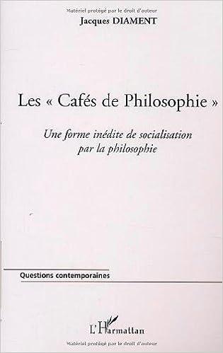 """Livre gratuits Les """"cafés de philosophie pdf epub"""