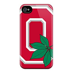 Bumper Cell-phone Hard Covers For Iphone 6plus (UDC523dBVY) Allow Personal Design Lifelike Ohio State Image