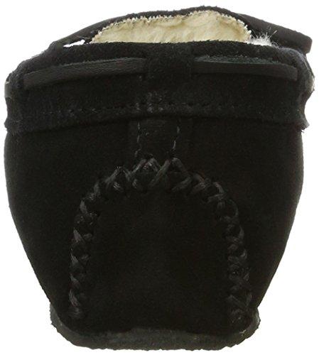 Estar Mujer Minnetonka Negro 4011 Zapatillas Por Casa Para blackblack De qOB6Ot