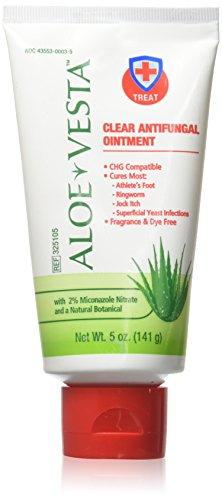 Aloe Vesta Clear Antifungal Ointment 5 oz Tube