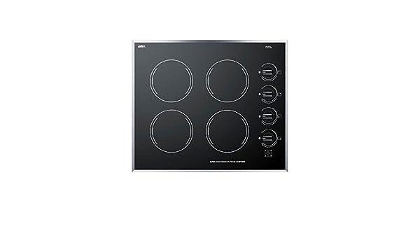 Amazon.com: Summit CR424BL Electric Cooktop, Black: Appliances