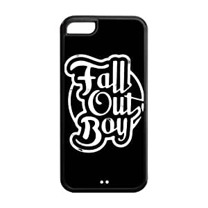 Personalized Snap-on TPU Rubber Coated Case Cover for iPhone 6 (4.5) [FOB Fall Out Boy]