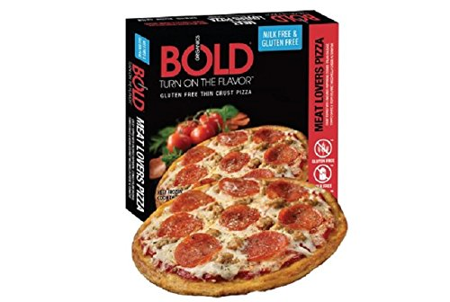 Bold Organics Gluten Free Milk Free Deluxe Pizza, 14 Ounce (Pack of 12)