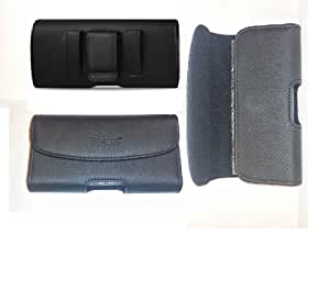 New Sony Xperia Z HORIZONTAL LEATHER CASE POUCH BELT CLIP BELT LOOP with Magnetic closure FIT THIN CASE ON