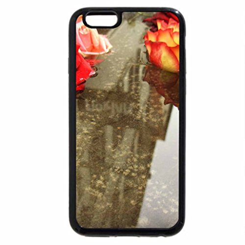 iPhone 6S / iPhone 6 Case (Black) Floating Roses