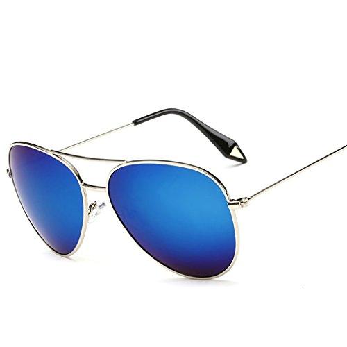 amp;Gafas X9 Película Color Espejo 7 personalidad de Gran Vintage Lente de polarizada sol protecciónn Gafas Gafas 8 de amp; Marco Gafas fAq4df