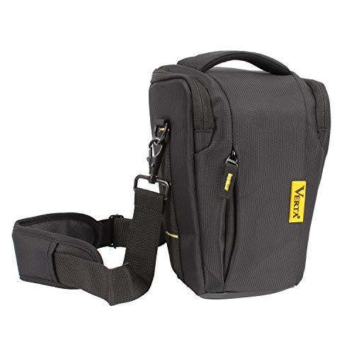 Top-Load Holster Camera Bag Large Compact Size DSLR SLR Zoom Lens Shoulder Waist