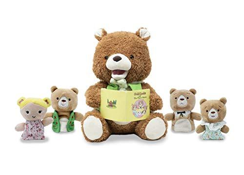 Cuddle Barn Finger Puppet Storytelling Plush (Bradford The Storytelling Bear)