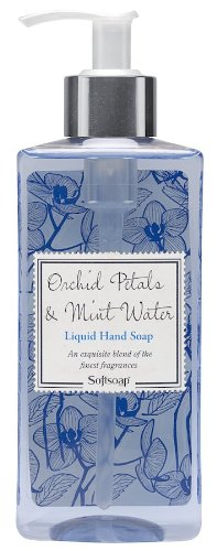Softsoap Hand Soap, Water Mint and Orchid Petals, 10 Ounce (Pack of 6)