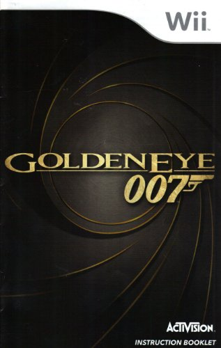007 - Goldeneye Wii Instruction Booklet (Nintendo Wii Manual Only) (Nintendo Wii Manual)