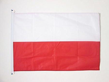 AZ FLAG Bandera de Polonia 90x60cm Uso Exterior - Bandera POLACA ...