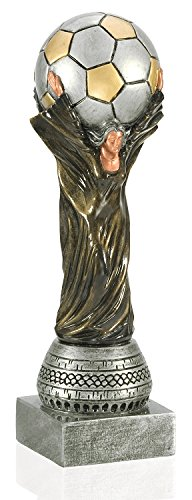 Soccer World Cup Trophy - 10.5 Inch Tall